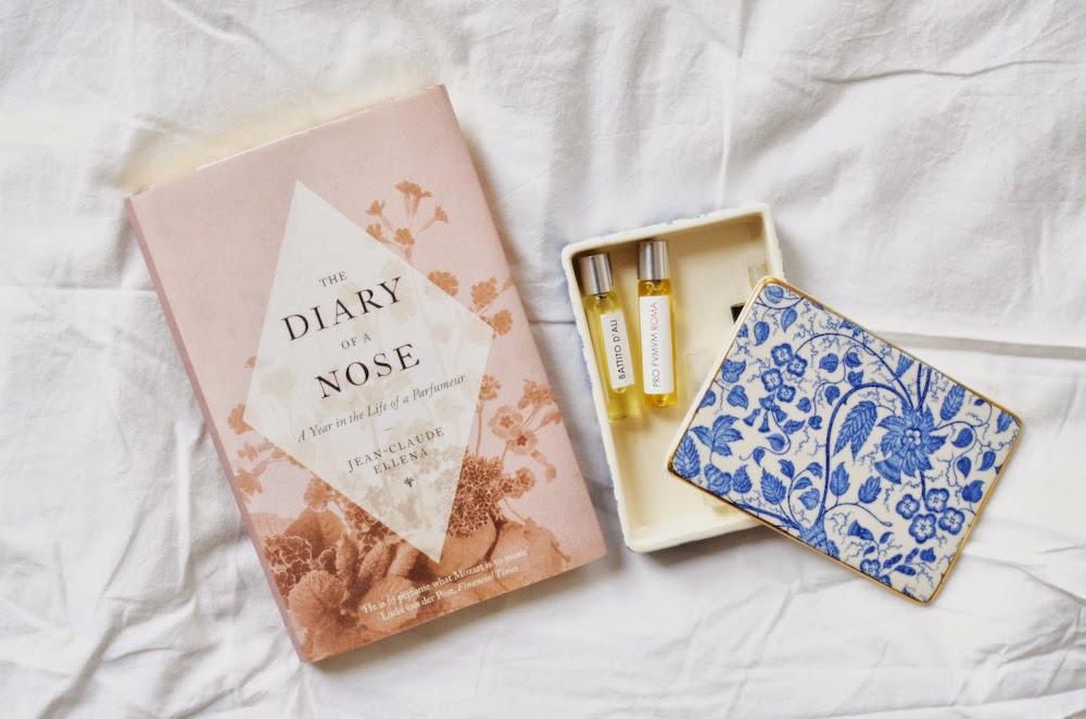 knjiga the diary of a nose lovily