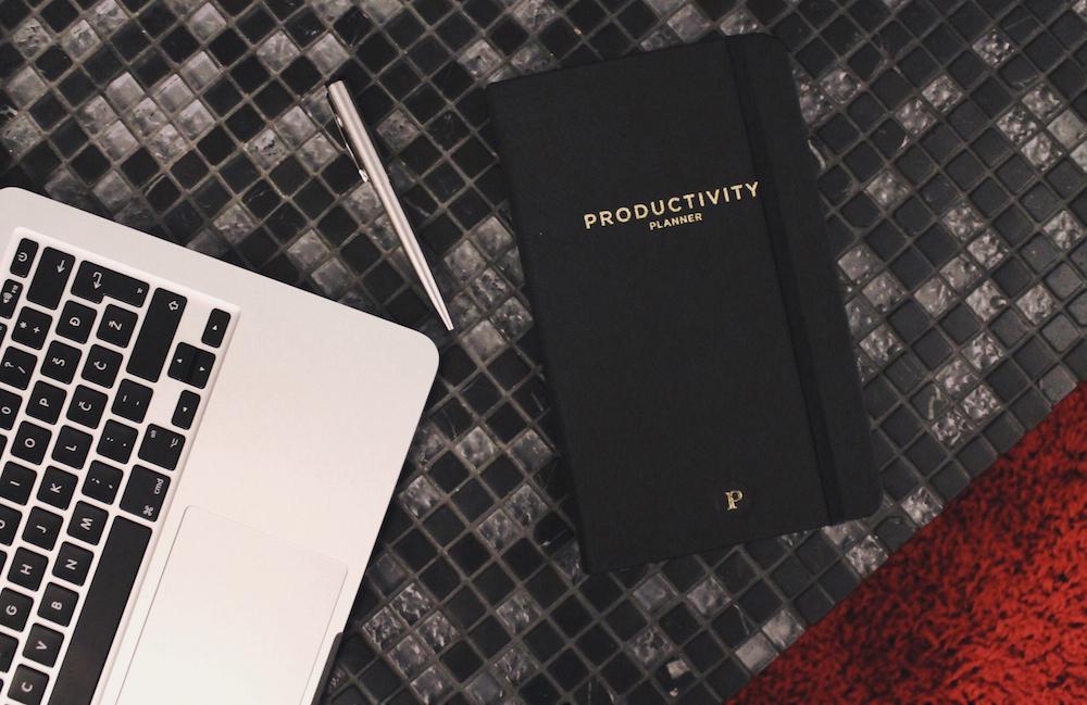 lovily productivity planner produktivnost