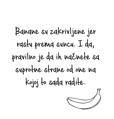 banana cinjenica lovily