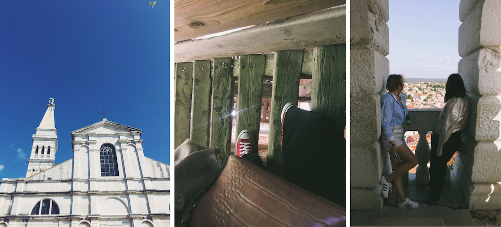 zvonik crkve sv eufemije rovinj