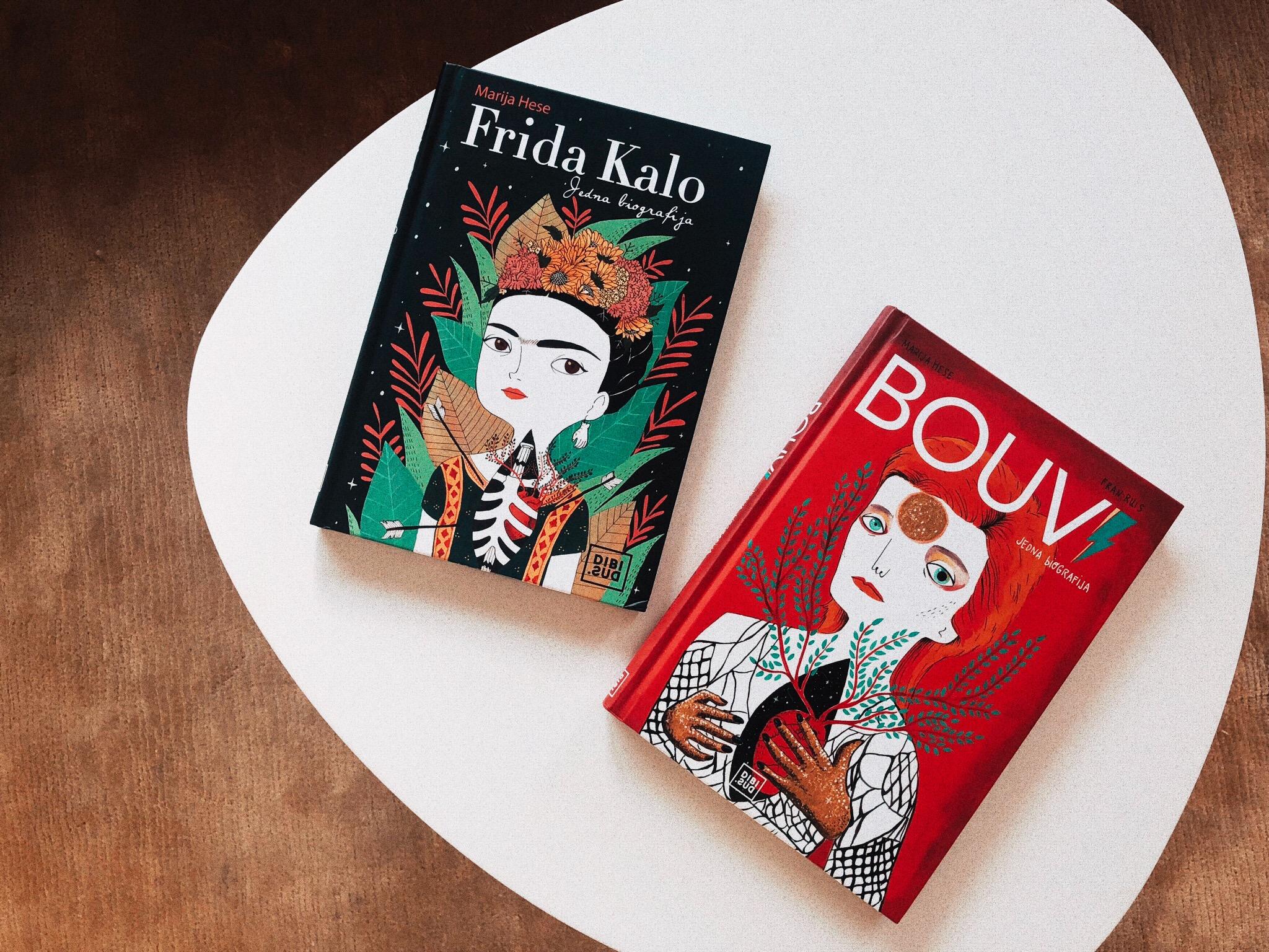 biografije david bowie i frida kahlo
